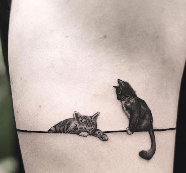 10 pessoas que fizeram tatuagens de gato absolutamente incríveis